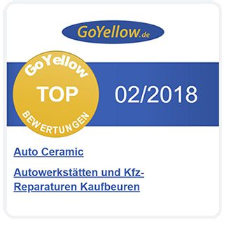 rezension auto ceramic goyellow